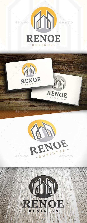 Renovation Logo - Buildings Logo Templates