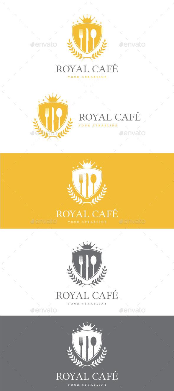 Royal Cafe Logo - Crests Logo Templates