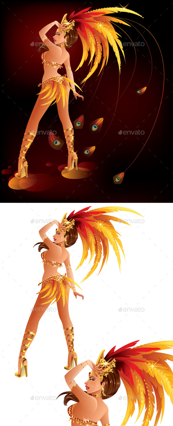 Carnival Dancer - Characters Vectors