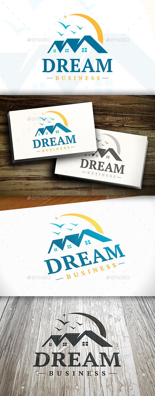Dream House Logo - Buildings Logo Templates