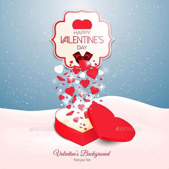 Valentine`s Day Background - Valentines Seasons/Holidays