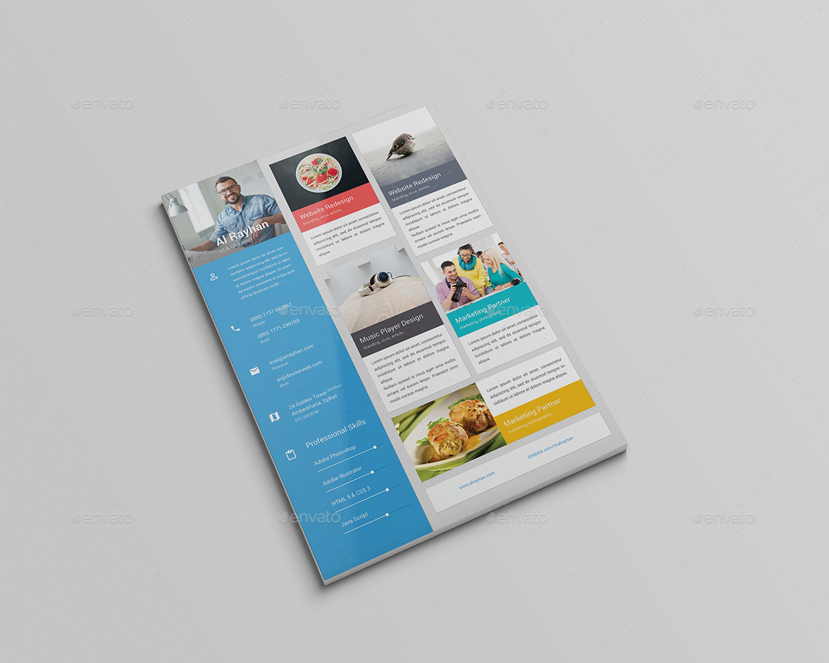 Material CV/Resume by rtralrayhan | GraphicRiver