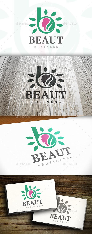 Beauty B Letter Logo - Letters Logo Templates