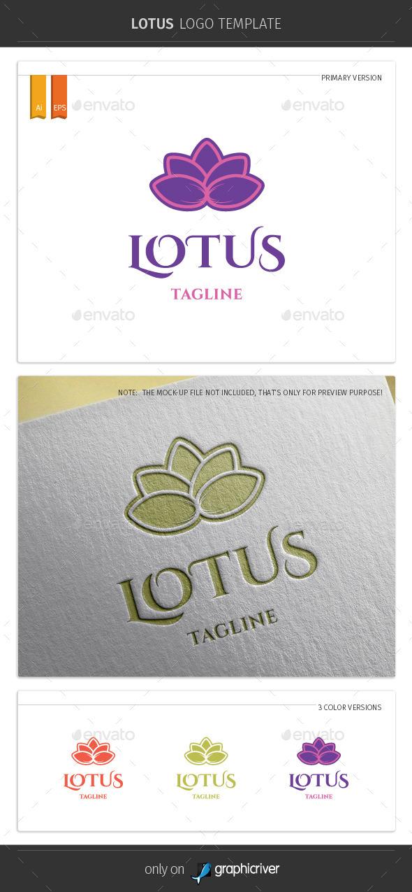 Lotus Logo Template - Symbols Logo Templates