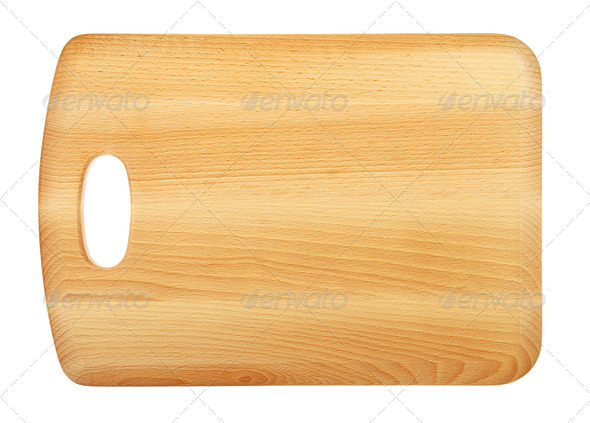 Wooden Chopping Board - Stock Photo - Images