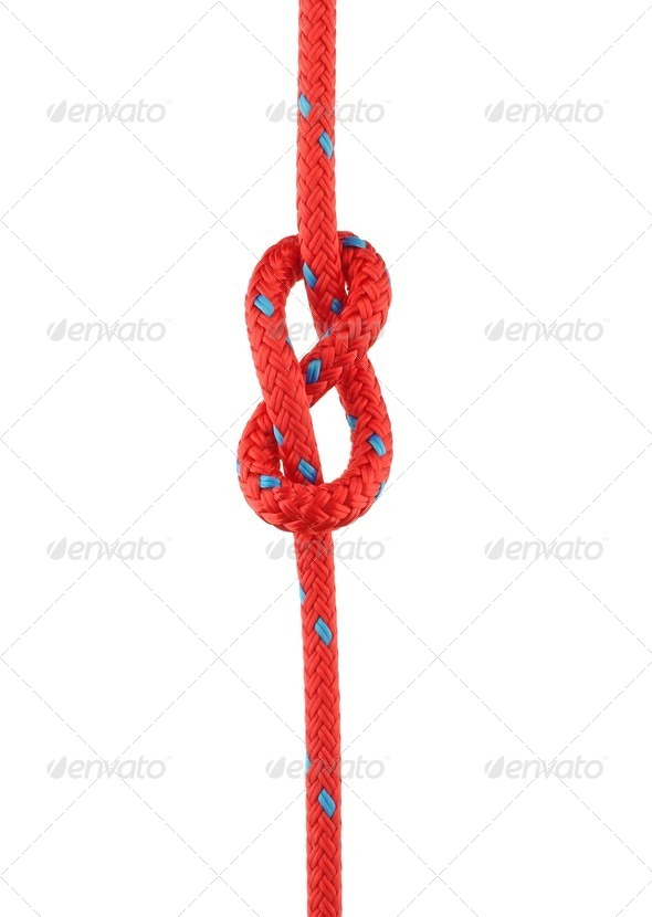 Figure of Eight Knot - Stock Photo - Images