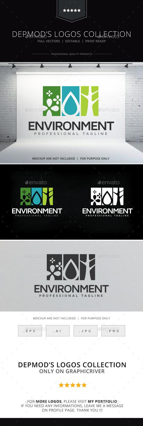 Environment Logo - Nature Logo Templates