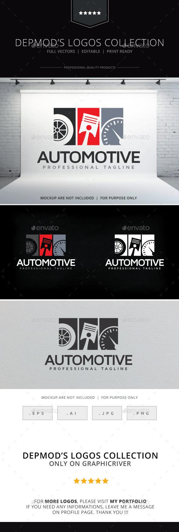 Automotive Logo - Objects Logo Templates