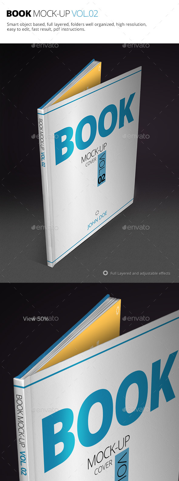 Book Mock-up Vol.02 - Books Print