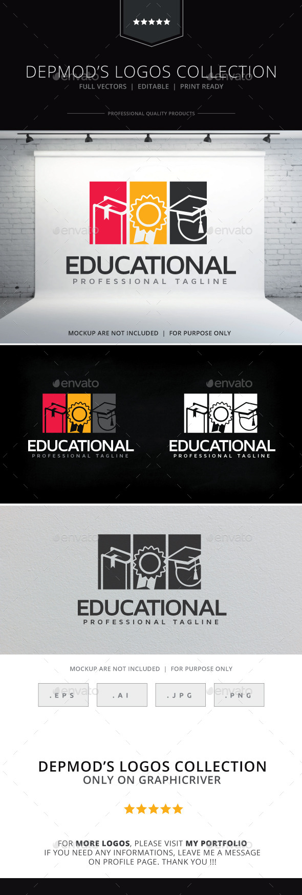 Educational Logo - College Logo Templates
