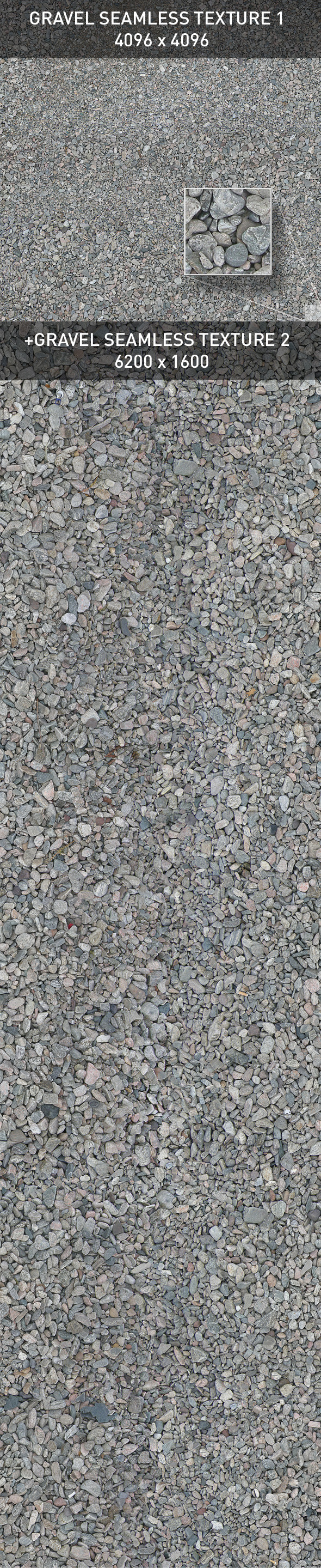Ground. Gravel 2. - 3DOcean Item for Sale