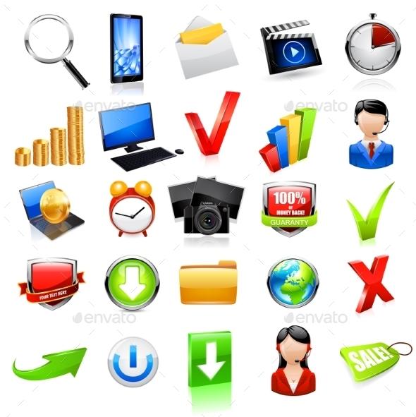 Web Icon Set - Miscellaneous Vectors