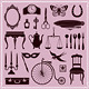 Vintage Ephemera Icons and Objects of Old Era - GraphicRiver Item for Sale