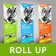 Multipurpose Business Roll Up Banner - GraphicRiver Item for Sale
