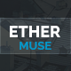 Ether - One Page Multipurpose MUSE Template - ThemeForest Item for Sale