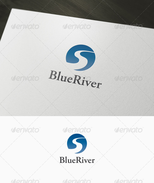 River Logo - Nature Logo Templates