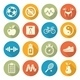 Health and Fitness Icons - GraphicRiver Item for Sale