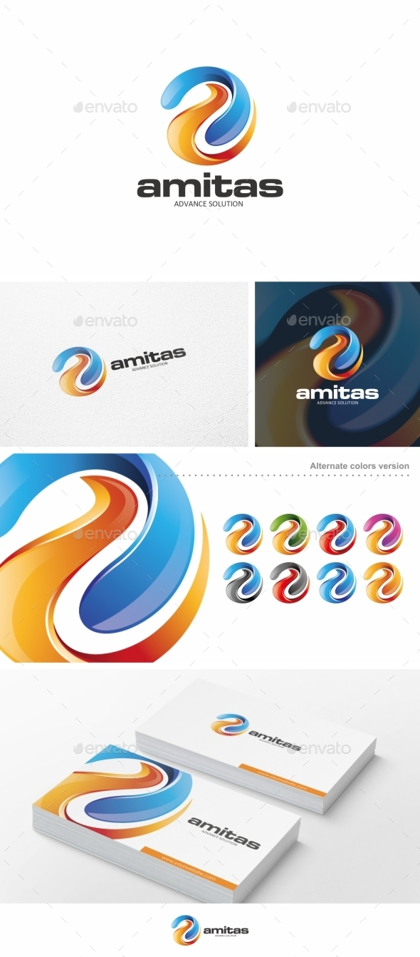 Amitas - Logo Template - Letters Logo Templates