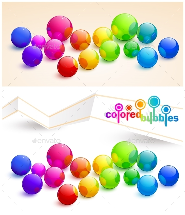 Colored Bubbles - Media Technology