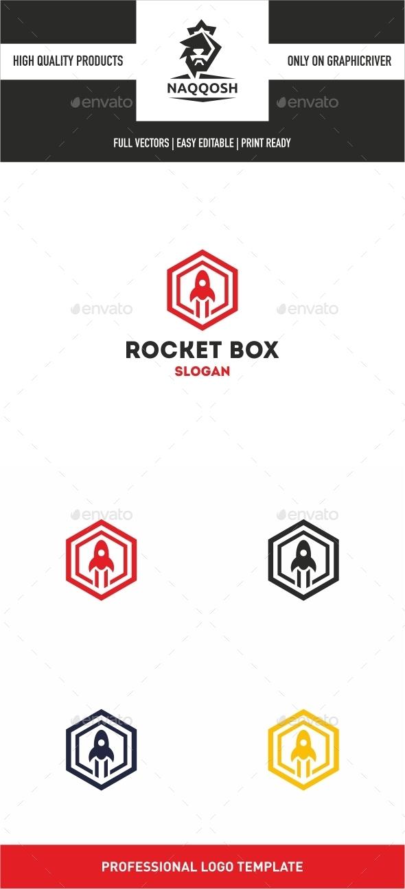 Rocket Box - Logo Templates