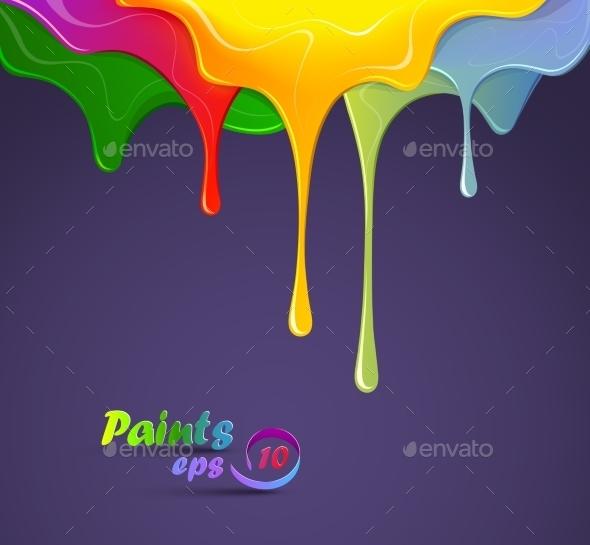 Colour Paints - Patterns Decorative