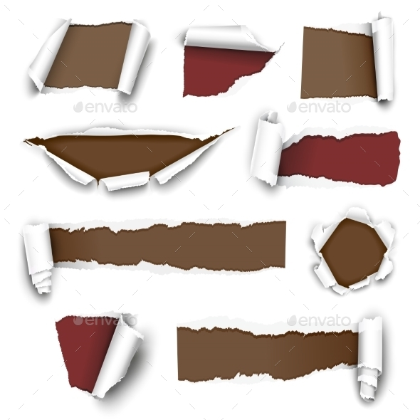 Torn Papers - Commercial / Shopping Conceptual