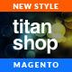 Responsive Magento Theme - Gala TitanShop Nulled