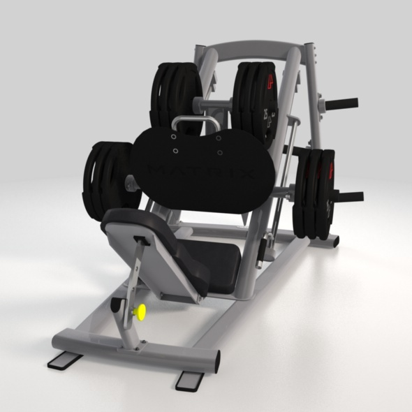 Fitness machine 01 - 3DOcean Item for Sale