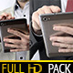 Businessman With Tablet (2 pack) - VideoHive Item for Sale