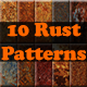10 Rust Patterns - GraphicRiver Item for Sale