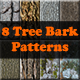 8 Tree Bark Patterns - GraphicRiver Item for Sale