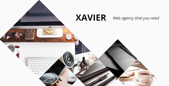 Xavier – Portfolio and Agency WordPress theme