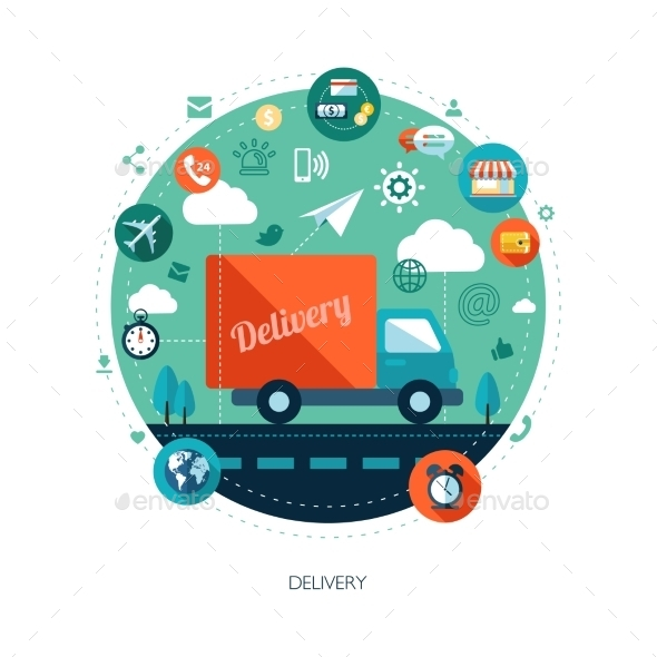 Delivery - Backgrounds Business