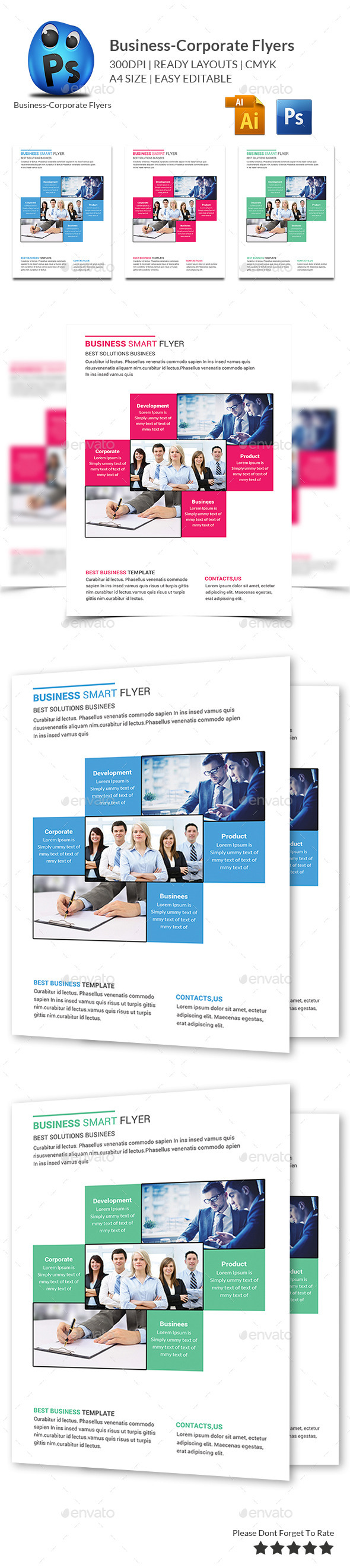 Business Flyers Templates - Corporate Brochures
