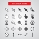 Cursor Icons Set - GraphicRiver Item for Sale