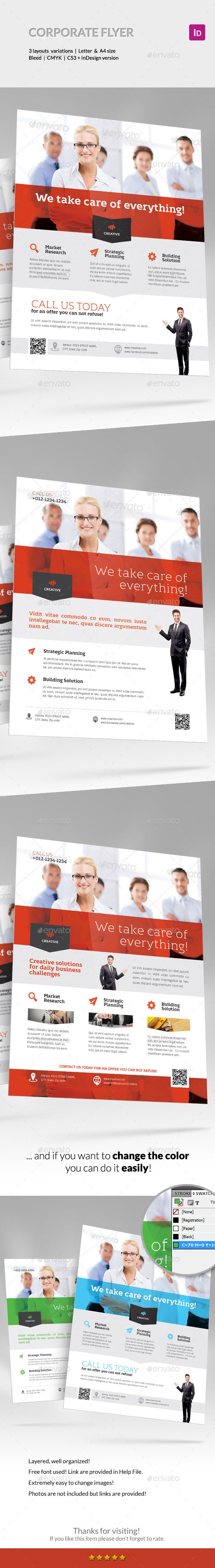 Corporate Business Flyer Set vol 6 - Corporate Flyers