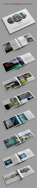 Minimal Architecture Brochure Templates By Azadcsstune Graphicriver