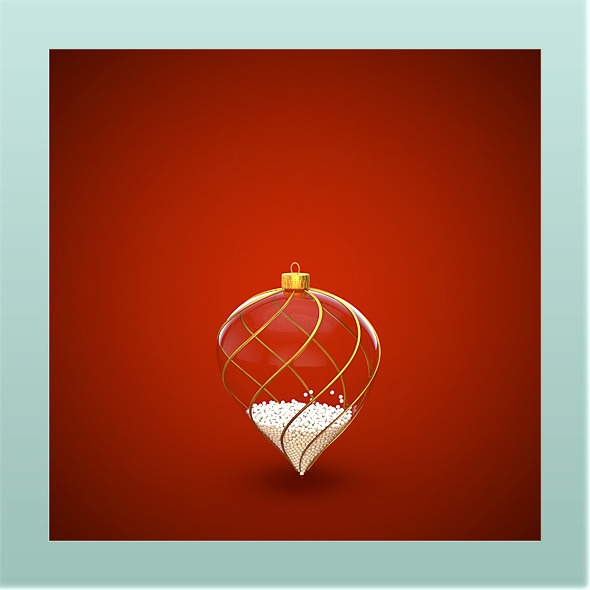 HiRes Christmas Decoration 5 - 3DOcean Item for Sale