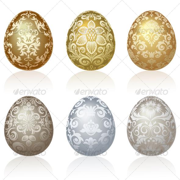 Easter eggs - Religion Conceptual