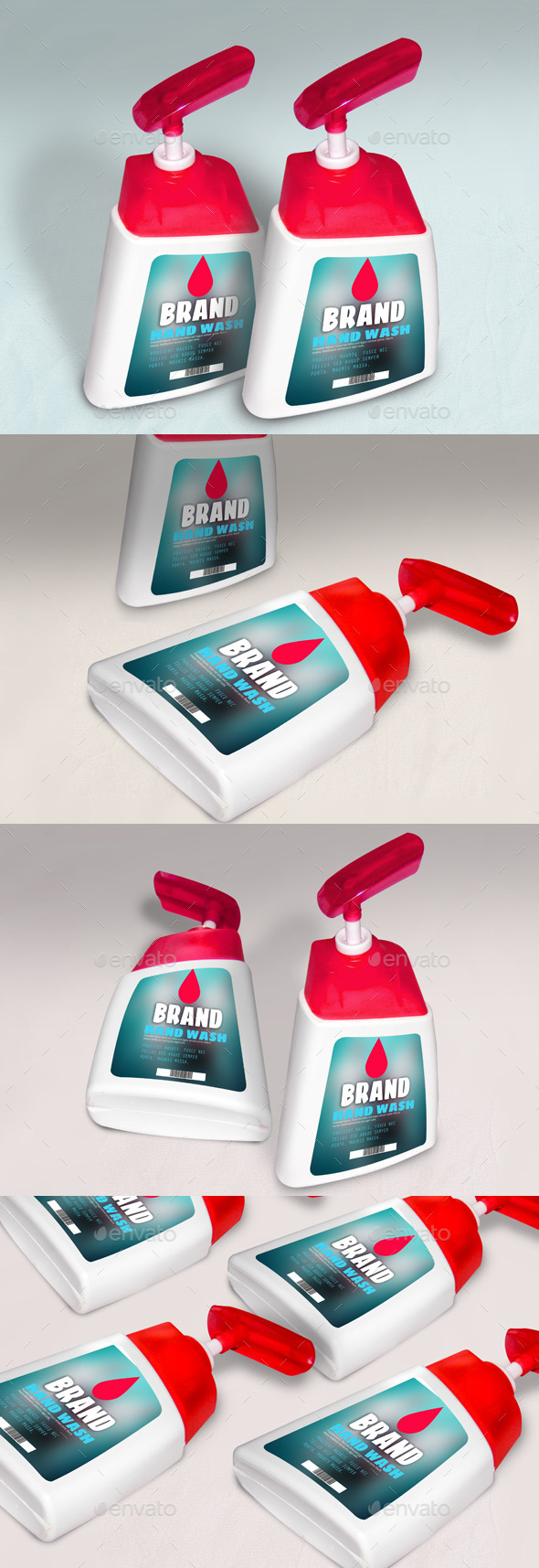Hand Wash Container Mock-up - Miscellaneous Packaging