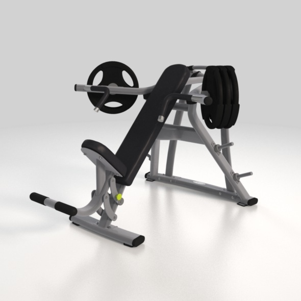 Fitness machine 02 - 3DOcean Item for Sale