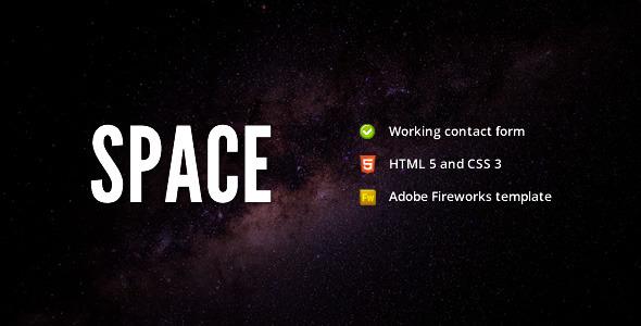 Free Download Space - Minimalist Portfolio Template Nulled Latest Version