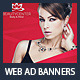 Beauty Center & Spa Web Advertising Banners - GraphicRiver Item for Sale