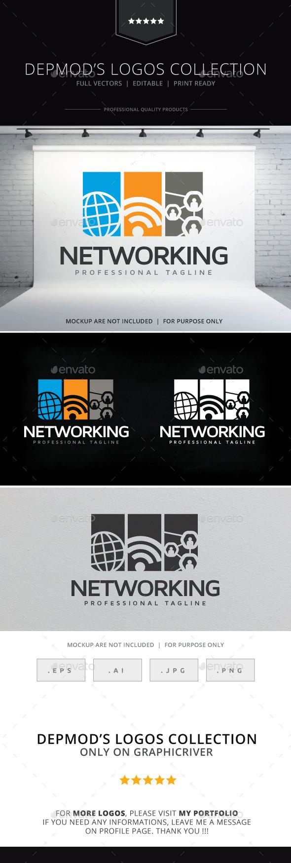 Networking Logo - Symbols Logo Templates