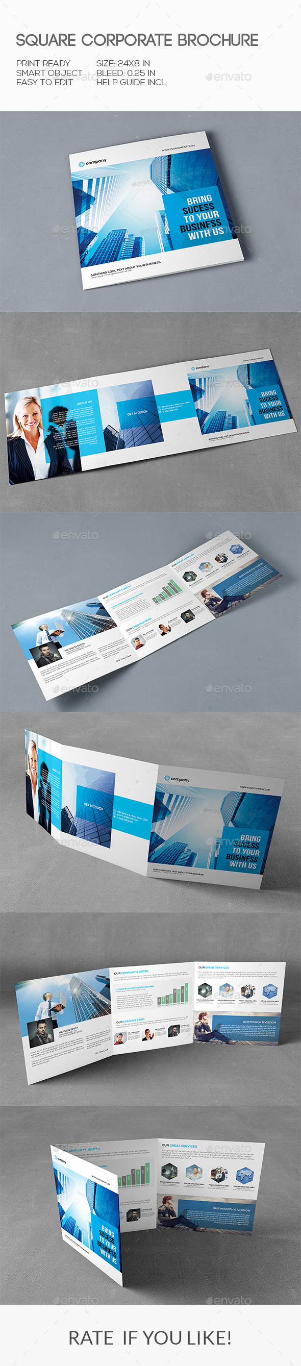 Square Corporate Brochure - Corporate Brochures