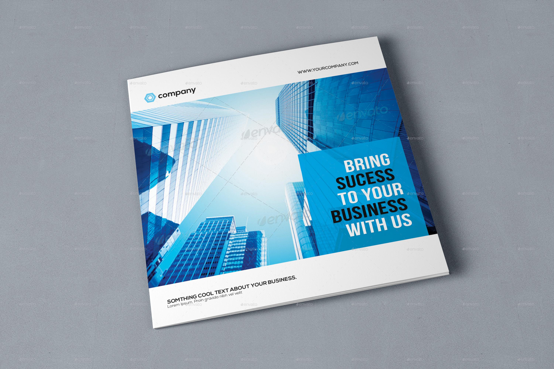 Square Corporate Brochure by GreenPixi | GraphicRiver