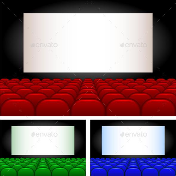 Auditorium - Miscellaneous Vectors