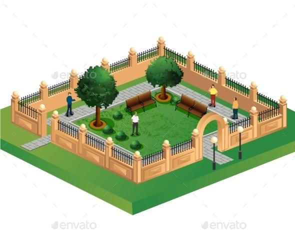 Urban Garden - Buildings Objects