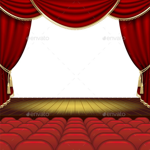 Theater Stage Background - Miscellaneous Conceptual