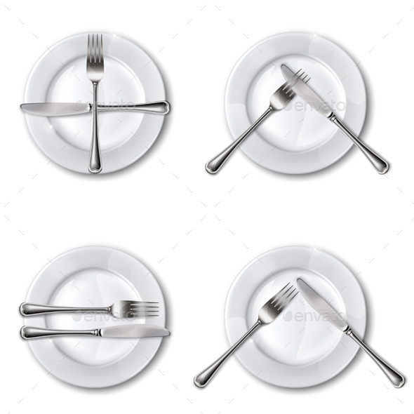 Restaurant Vector - Food Objects